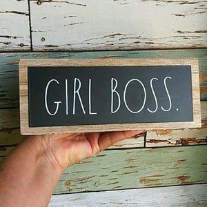 New Rae Dunn Girl Boss Desk Sign